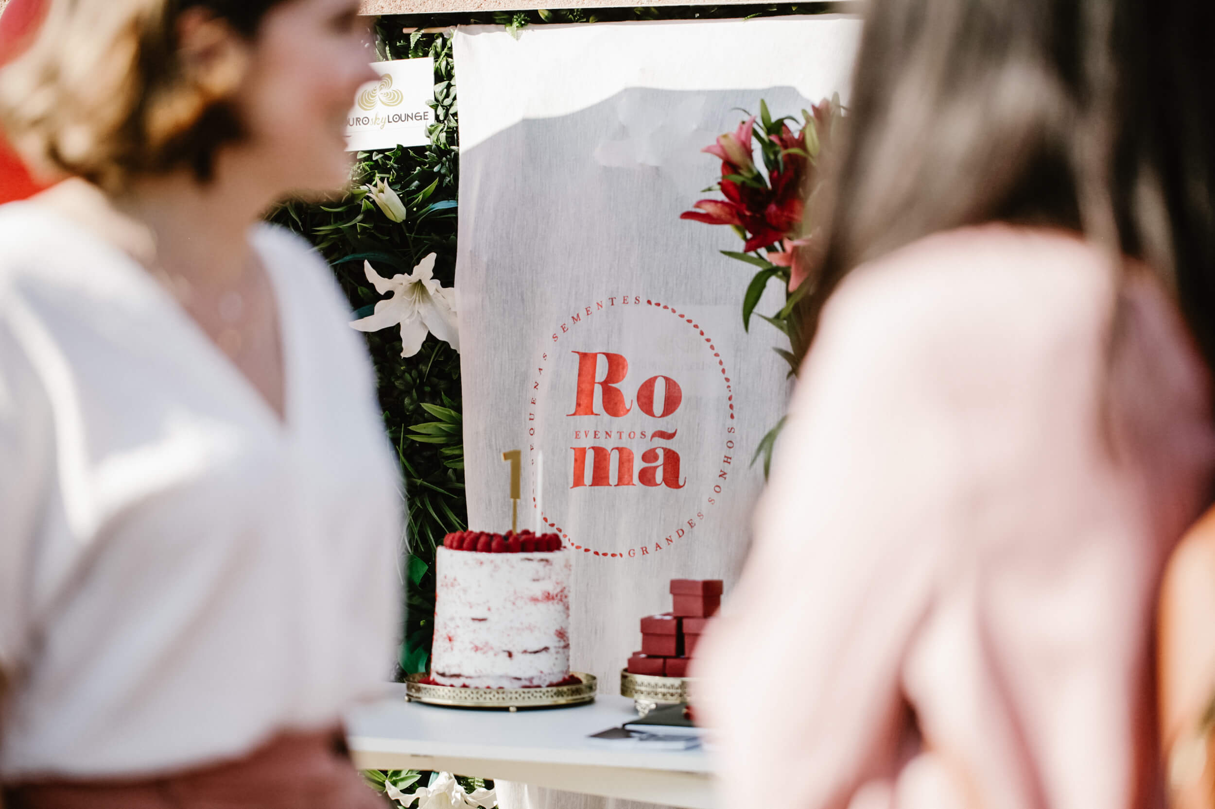 Primeiro Aniversário Romã